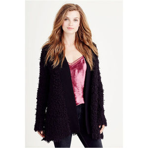 True Religion Women's Long Sleeve Cardigan